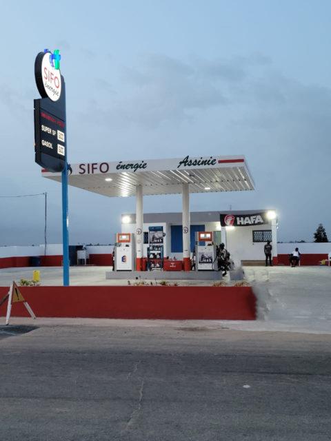 Station -SIFO-énergie-Assinie-produits-Pétroliers-Côte-d-Ivoire