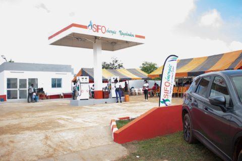 Station-service-SIFO ENERGIE-Côte d'Ivoire Société de distribution de produits pétrolière En Côte d'Ivoire